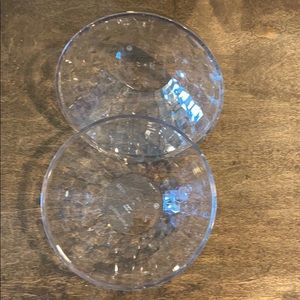 New Tupperware Small Ice Prisms Bowls